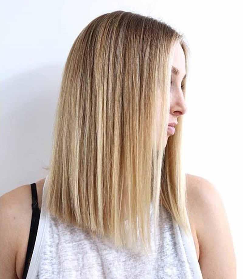 kiểu đầu hợp nhất cho tóc dày