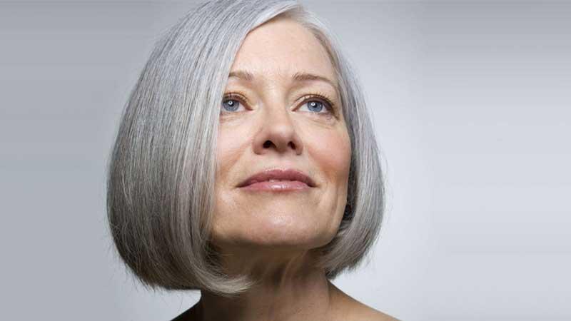 các kiểu tóc uốn cho người lớn tuổi