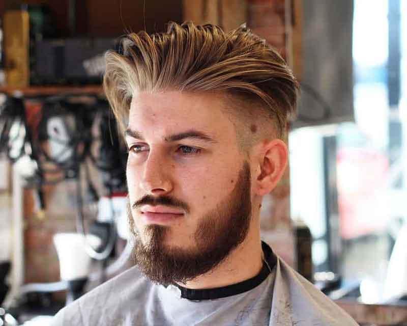 mẫu tóc undercut