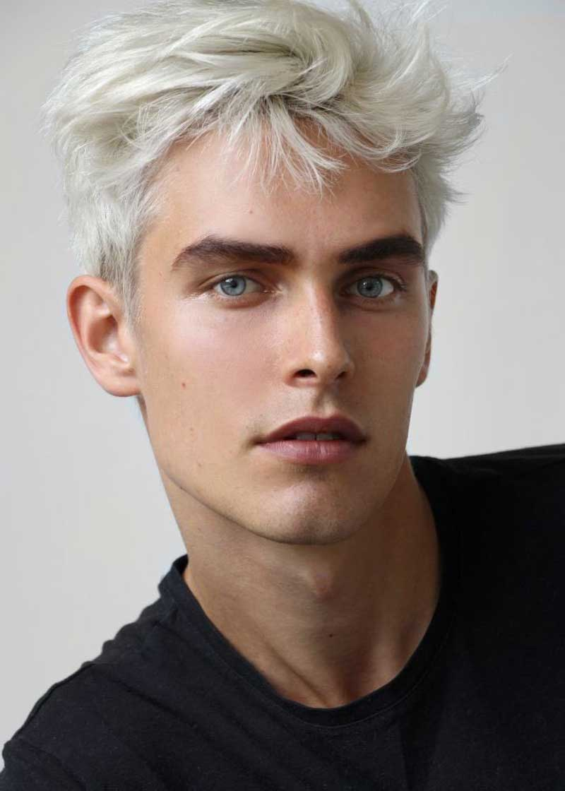 nhuộm tóc nam màu gì đẹp