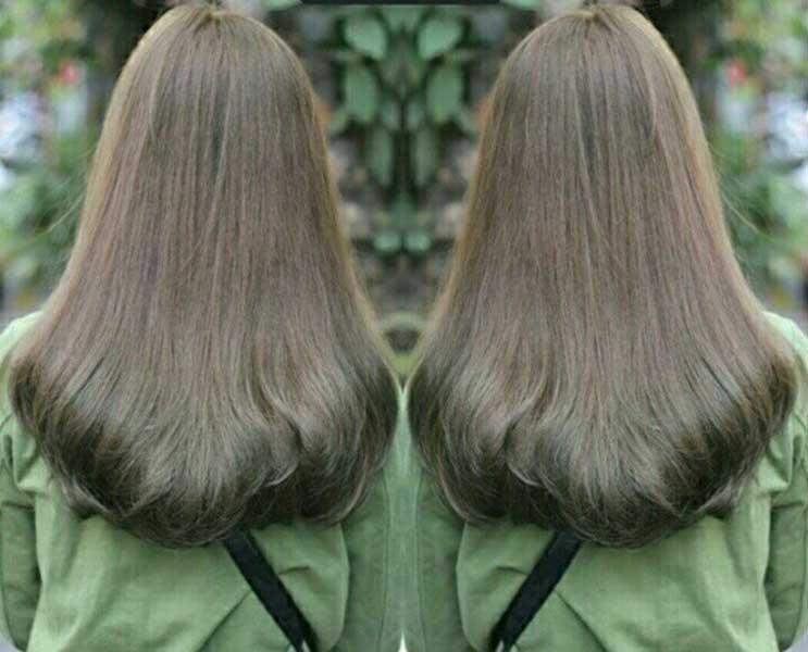 Tóc màu nâu rêu - màu nhuộm hot 2019 sang chảnh, nữ tính