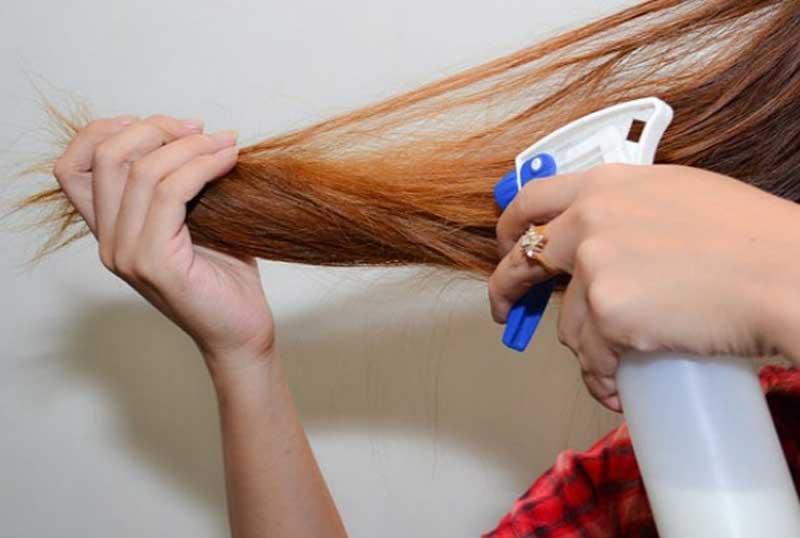 ép tóc tự nhiên
