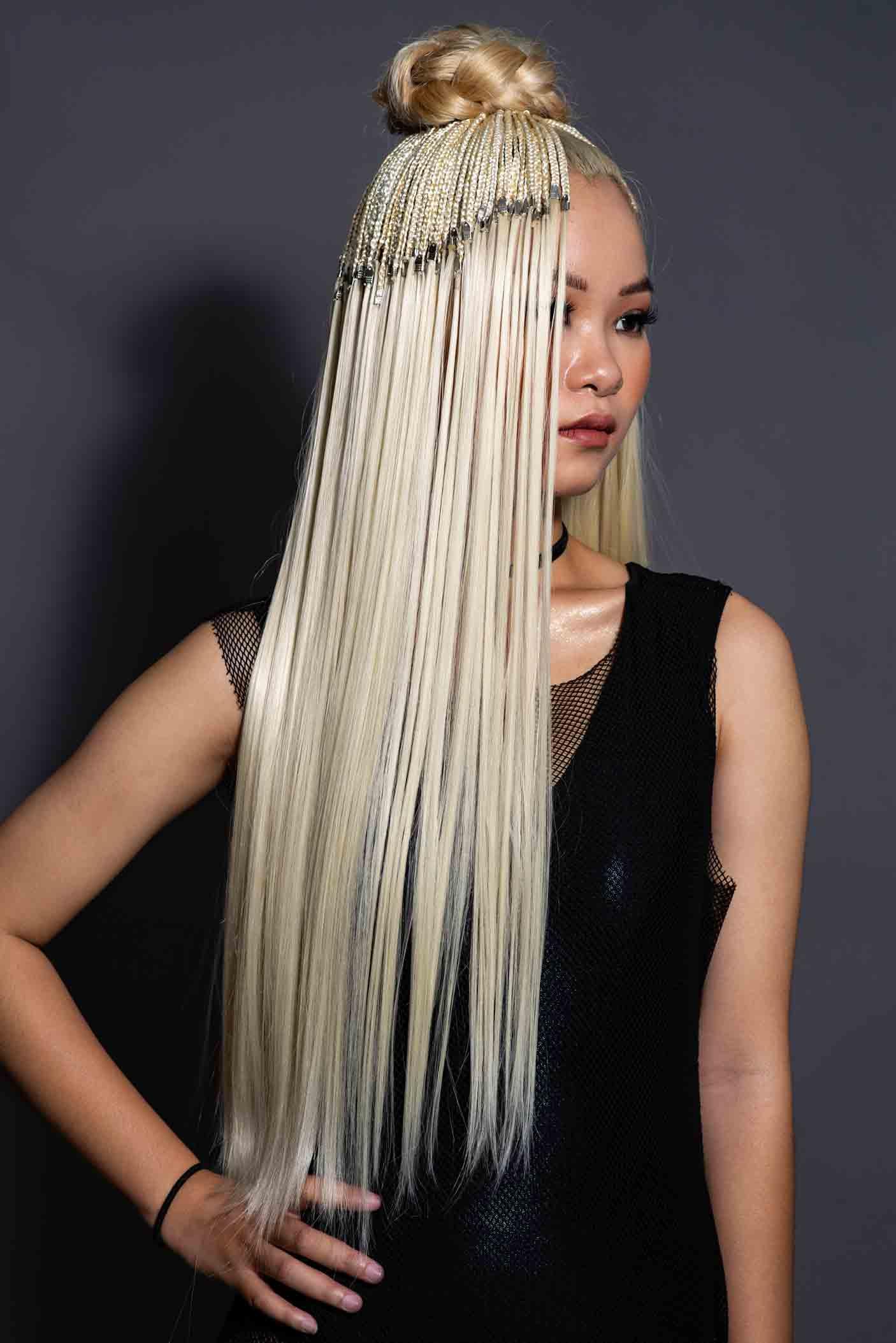 bộ sưu tập mẫu tóc kim loan