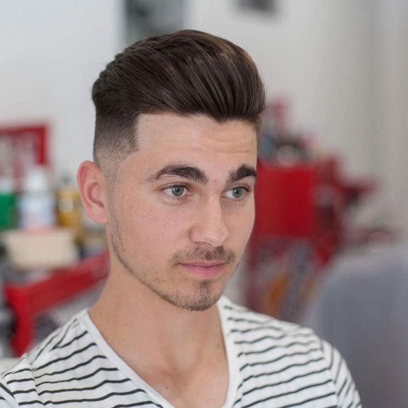 các kiểu tóc nam đơn giản mà đẹp