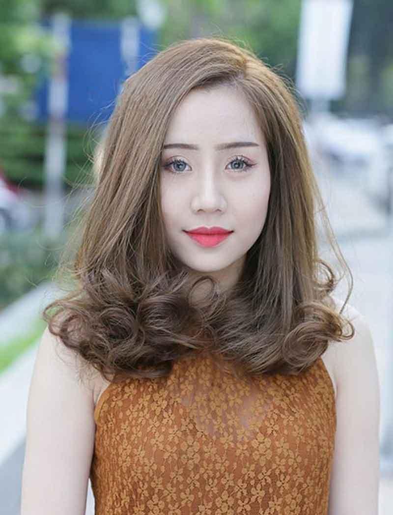 tóc lửng đẹp