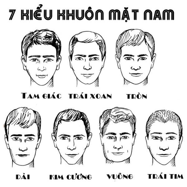 7 kiểu tóc nam mặt tròn, phù hợp và sành điệu nhất cho phái mạnh