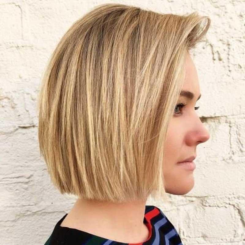 mặt tròn cắt tóc ngắn