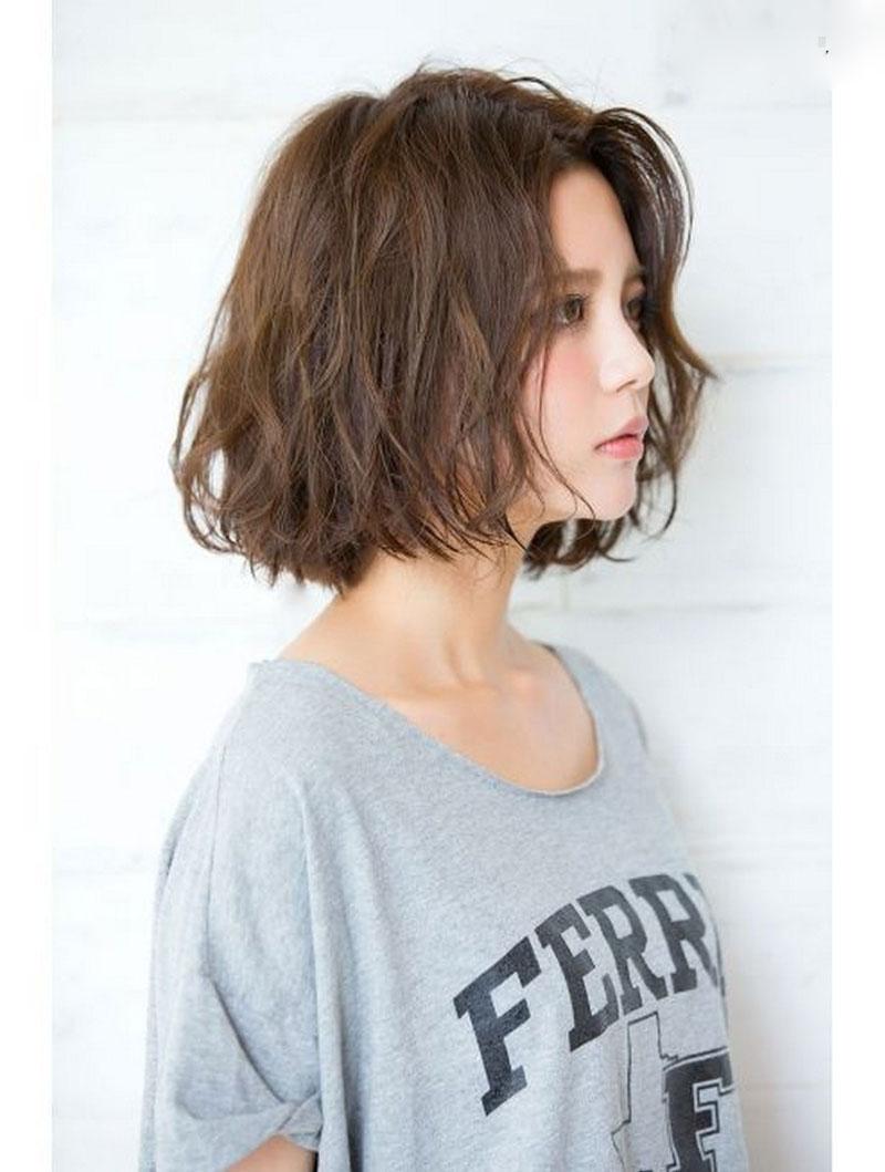 tóc ngắn đẹp cho mặt tròn