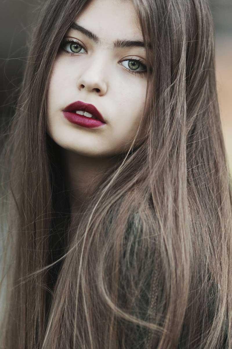 tóc nâu tây