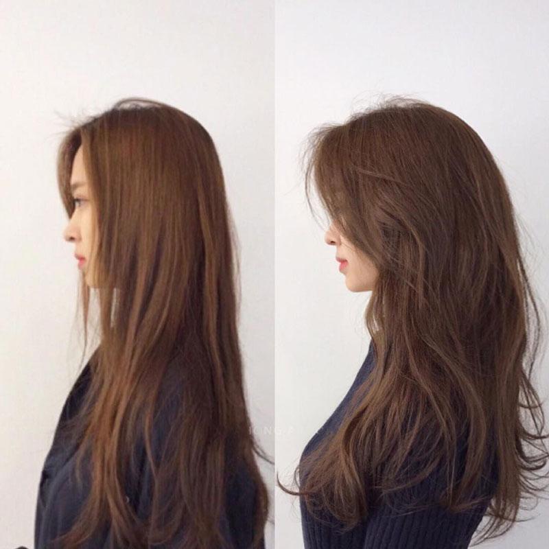 các kiểu tóc xoăn