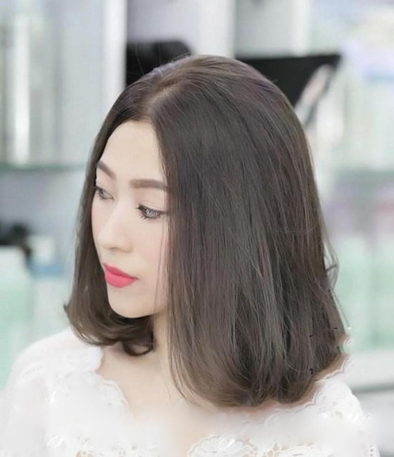 tóc màu nâu