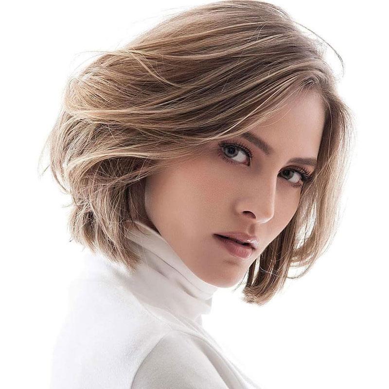 những kiểu tóc ngắn cho mặt tròn