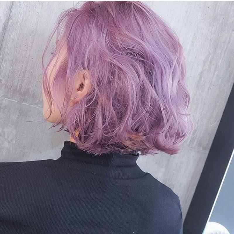 tóc ngắn nhuộm màu gì đẹp
