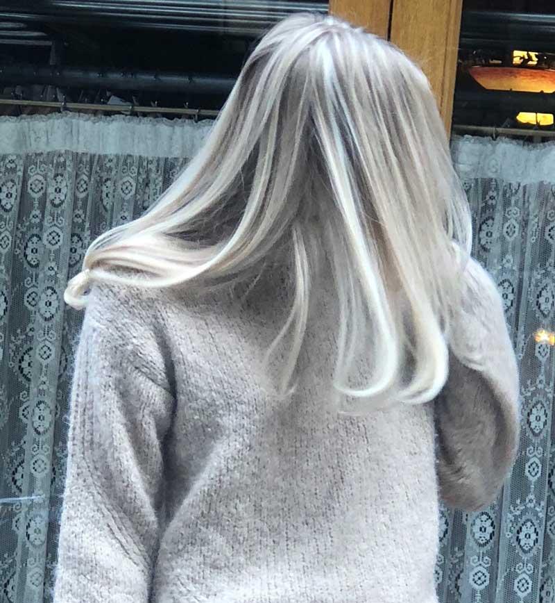 màu tóc đẹp năm 2019