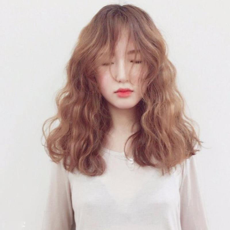 tóc mặt tròn