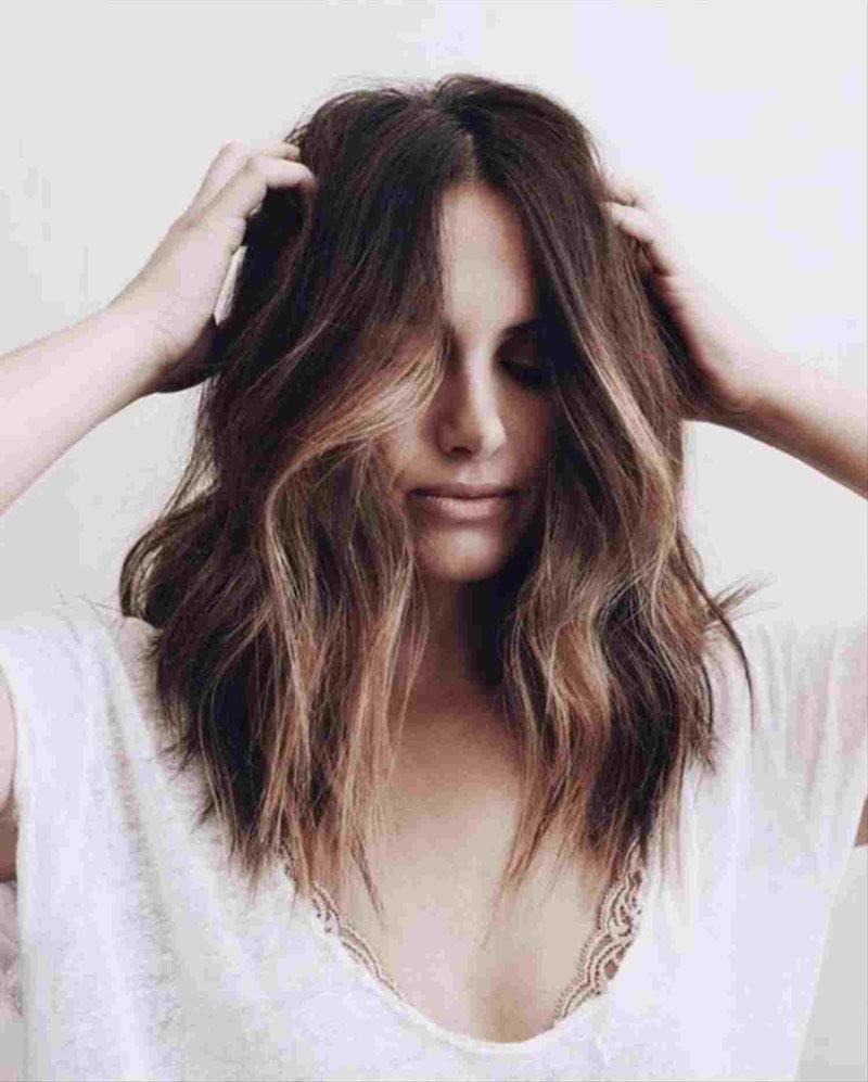 tóc cho mặt tròn