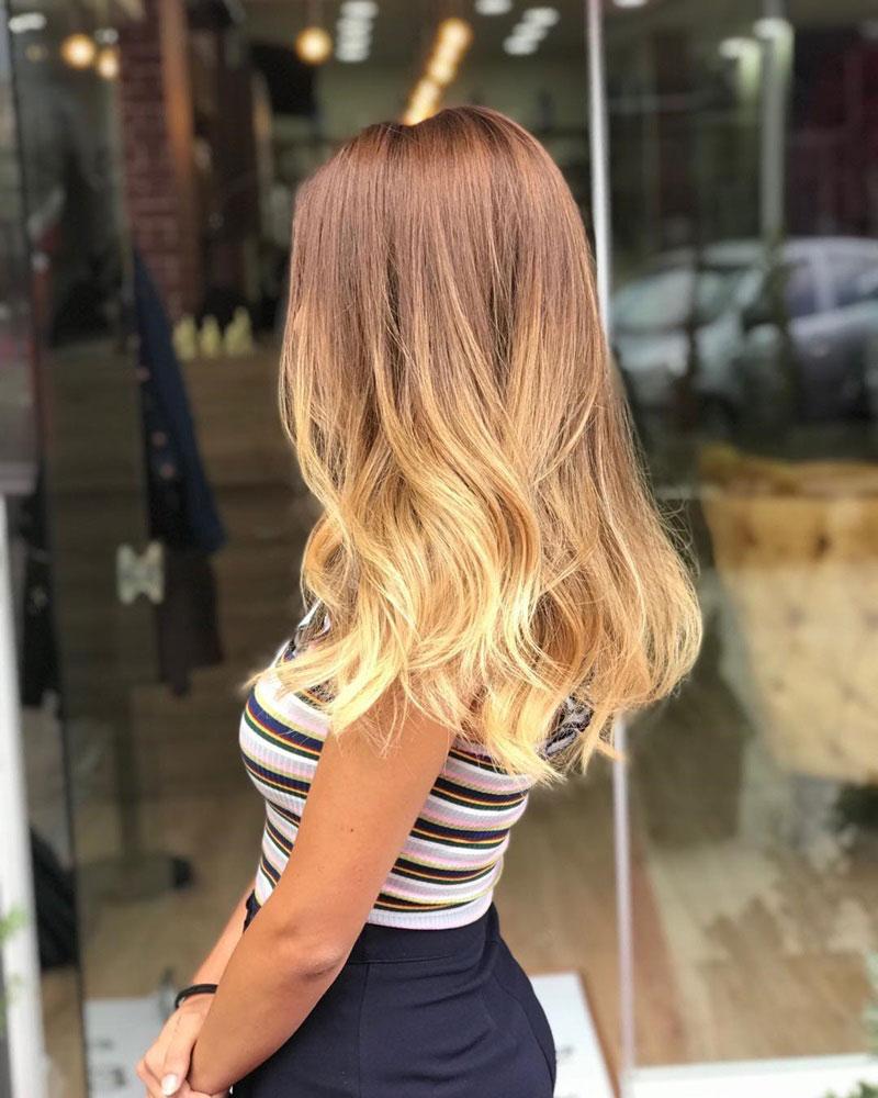 màu tóc nhuộm 2019