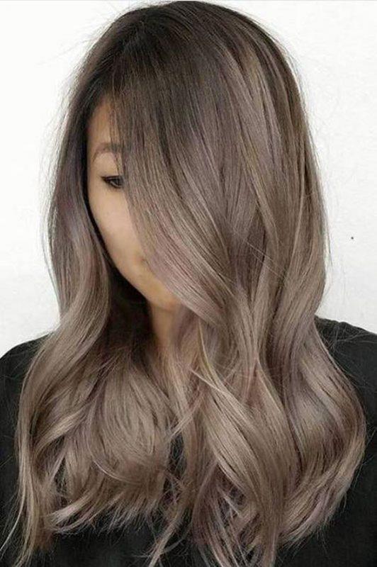 Tóc màu nâu lạnh - Màu nhuộm nhẹ nhàng cho nàng thêm nữ tính