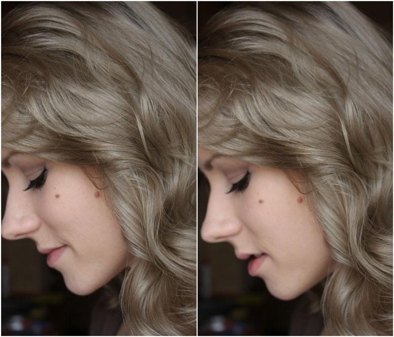 tóc nâu khói