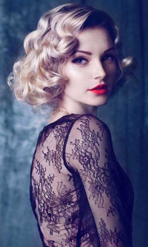 8 kiểu tóc ngắn xoăn tuyển chọn cho nàng ưa thời trang 2019