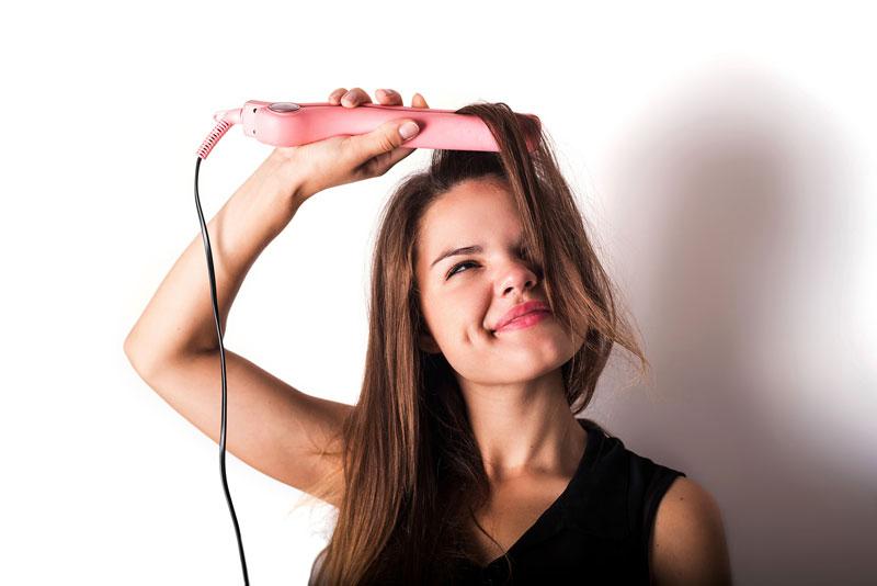 cách phục hồi tóc hư tổn nặng