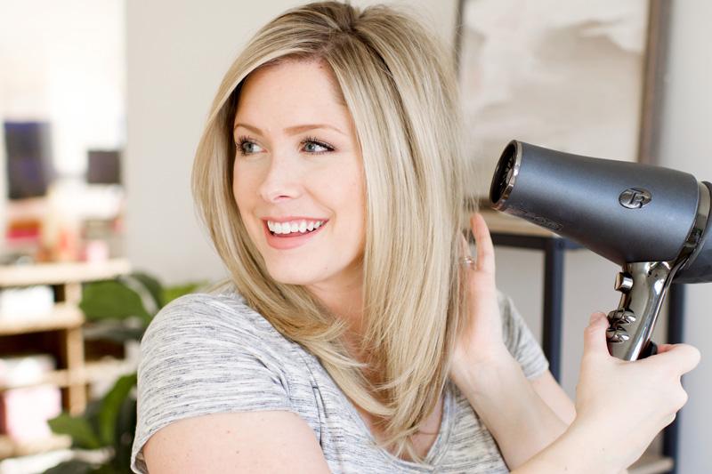 cách chăm sóc tóc uốn cụp đuôi