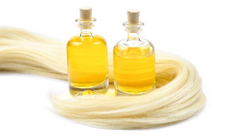 chăm sóc tóc nhuộm bằng dầu dừa