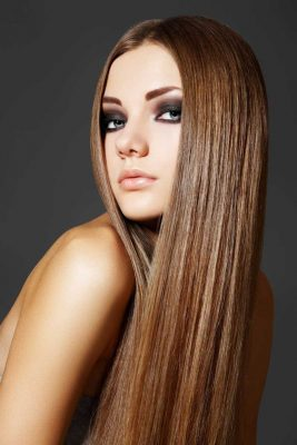 chăm sóc tóc khô mùa đông