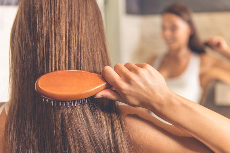 cách giữ nếp cho tóc uốn đuôi