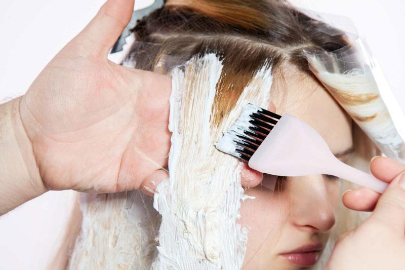 phục hồi tóc tẩy